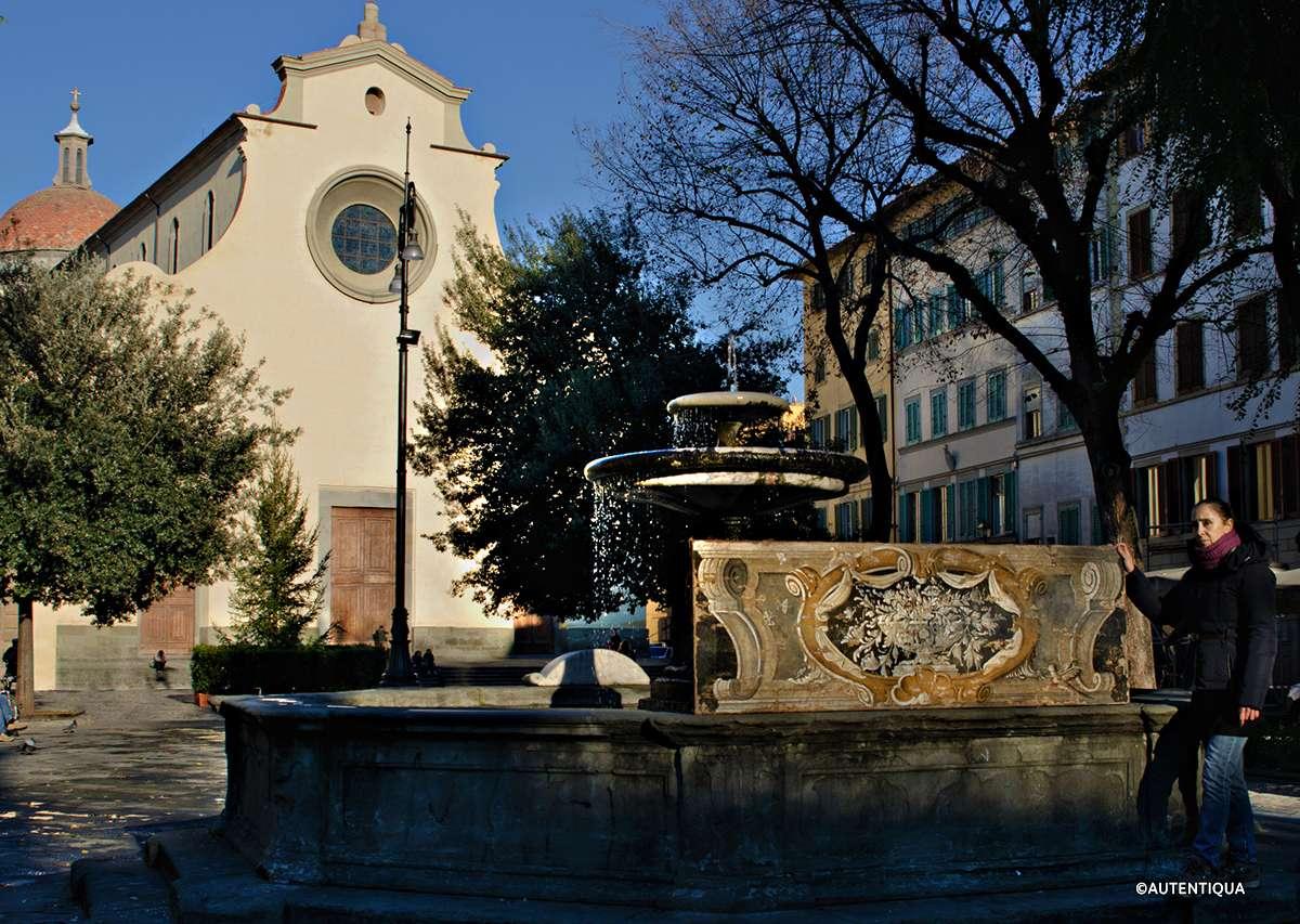Piazza Santo Spirito Firenze